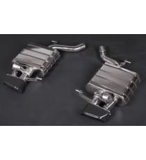 Capristo - Impianto cat back NON CATALIZZATO per BMW 650i codice motore F06, F12, F13