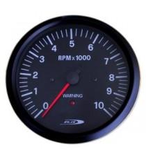 Contagiri 100mm Analogico 7000 RPM Segnale allarme fuorigiri WHITE LINE