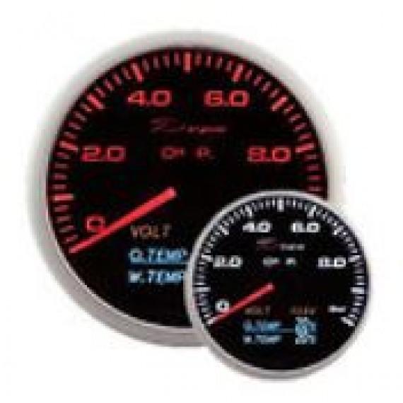Depo racing - Pressione olio + 3 strumenti diametro 60mm