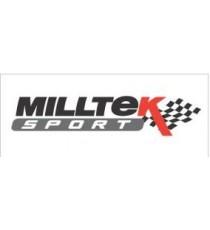Milltek - Cat-back (Centrale + Terminale) non silenziato per AUDI A4 B7 con motore 1.8L T Quattro
