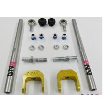 DNA - Kit tiranti sospensioni posteriori con regolazione camber per BMW Serie 3 (E36 e E46)